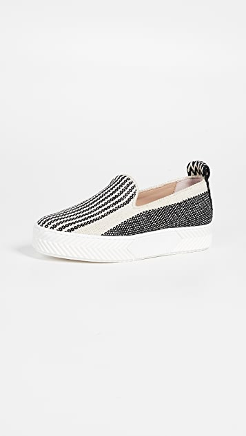 An Hour and A Shower Zigsouk Slip On Sneakers