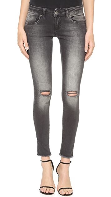 ANINE BING Ripped Jeans