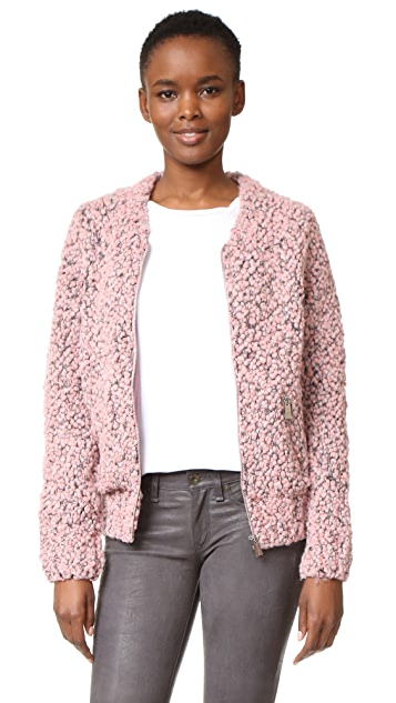 ANINE BING Knit Bomber Jacket