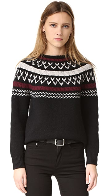 ANINE BING Knit Sweater with Details