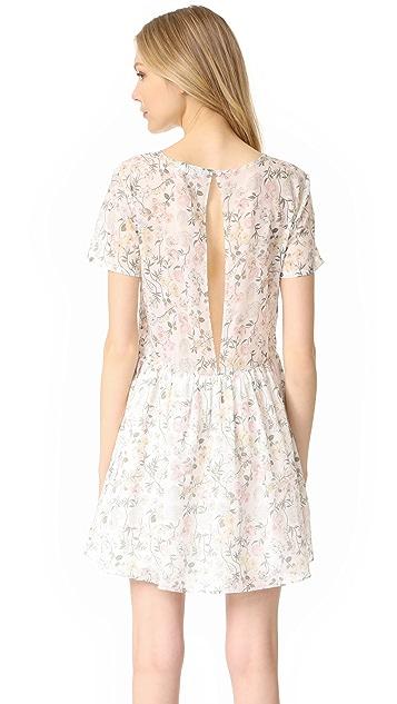 ANINE BING Floral Cotton Dress