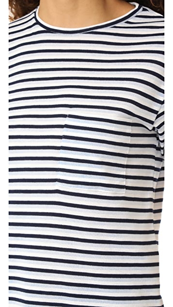 ANINE BING Striped Tee