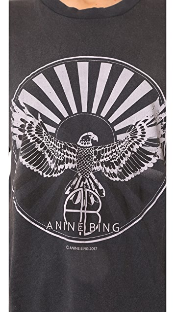 ANINE BING Anine Bing Sunburst Tee