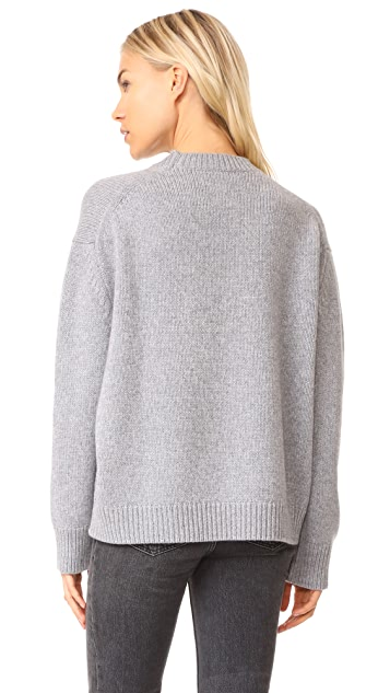 ANINE BING Cashmere Chunky Knit Sweater