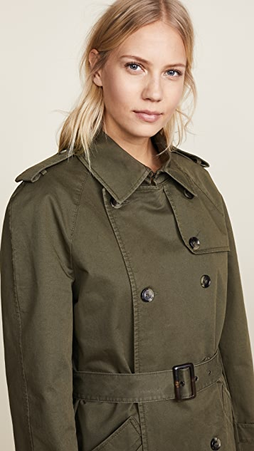 ANINE BING Military Trench Coat