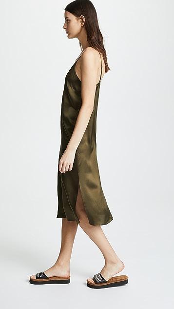 ANINE BING Платье-комбинация Gemma