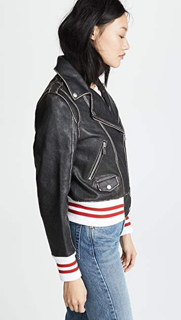 ANINE BING Quinlan Leather Jacket