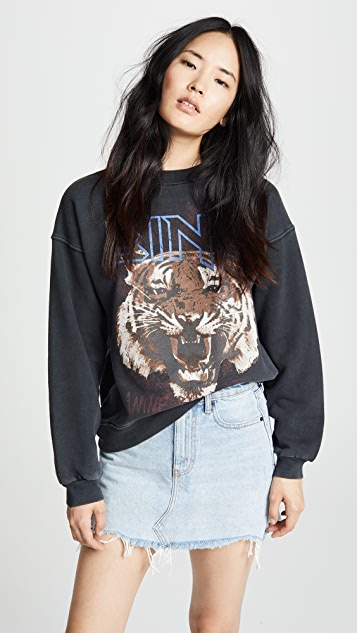 Bing Tiger Sweatshirt by Anine Bing