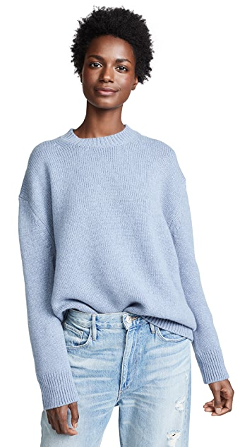 ANINE BING Rose Cashmere Sweater
