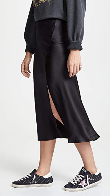 ANINE BING Dolly Silk Skirt