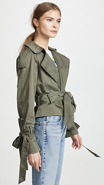 ANINE BING Aria Trench Coat