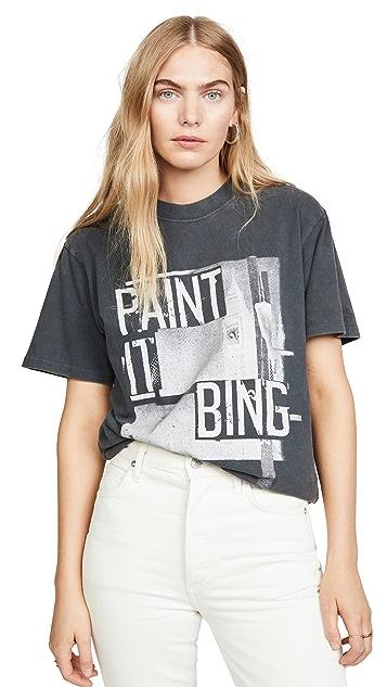 ANINE BING Paint It Bing Tee