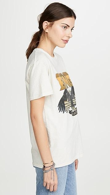 ANINE BING Винтажная футболка Bing
