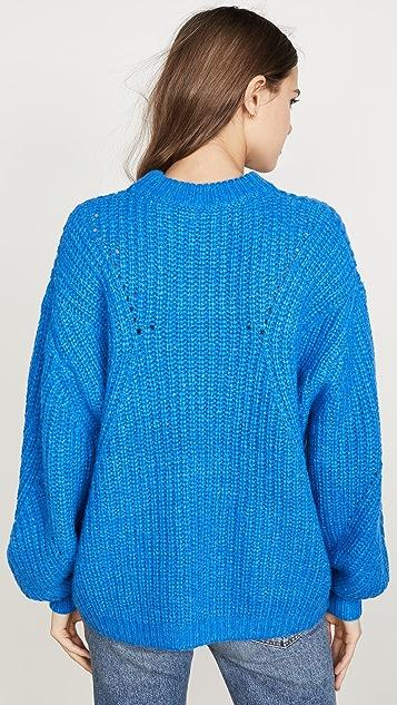 ANINE BING Jolie Alpaca Sweater