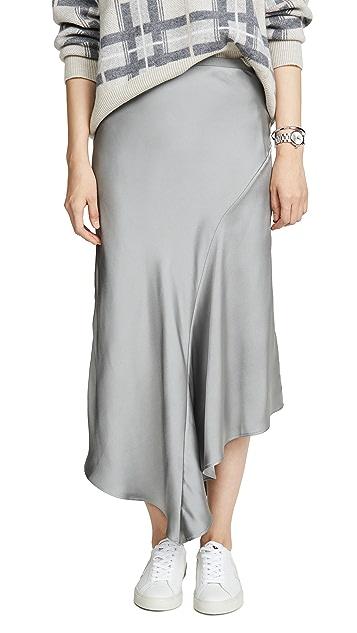 ANINE BING Bailey Metallic Skirt