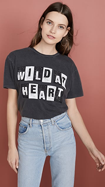 ANINE BING Wild Heart T 恤