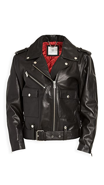 ANINE BING Maverick Leather Jacket