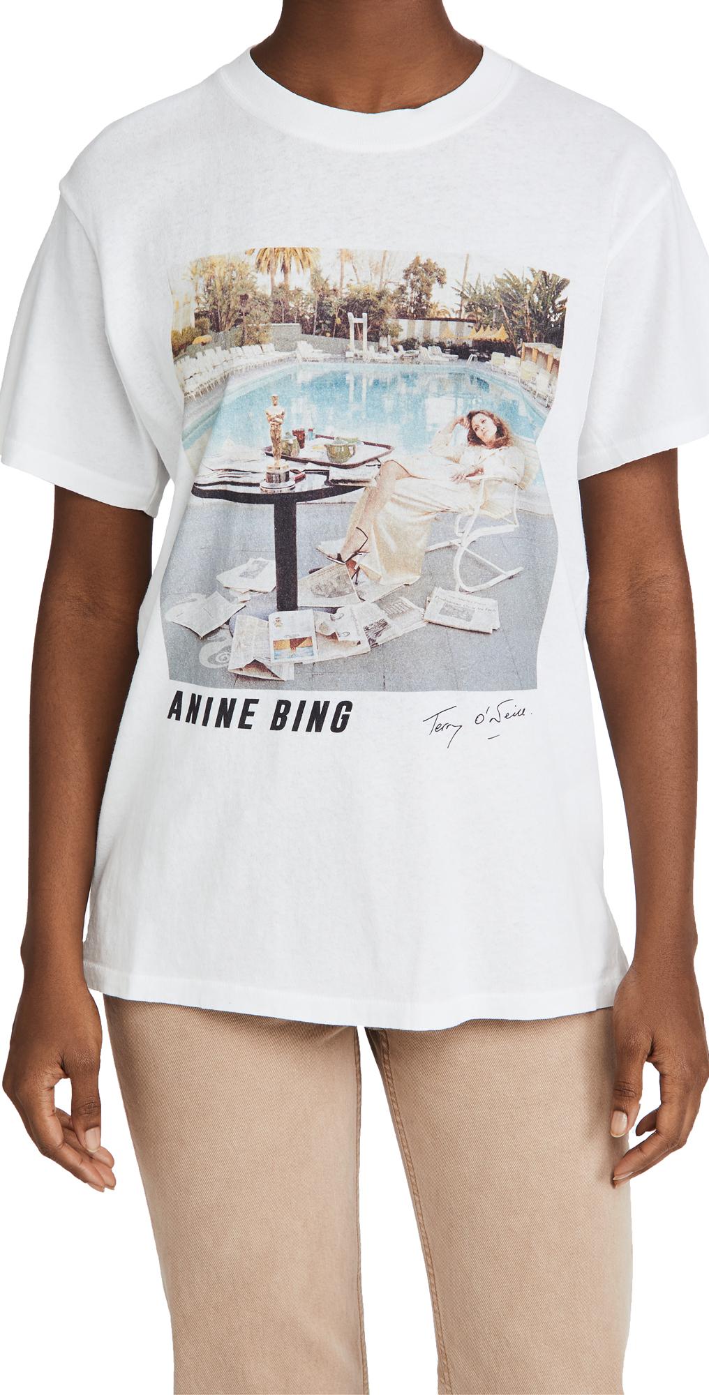 ANINE BING Lili Tee AB x TO F
