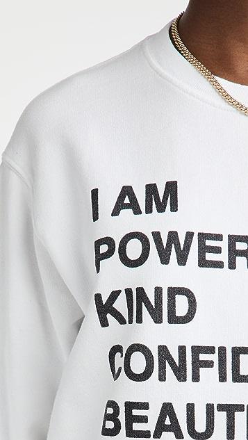 ANINE BING Ramona Empowerment Sweatshirt