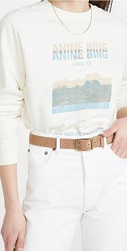 ANINE BING - Arlo Desert Road 运动衫