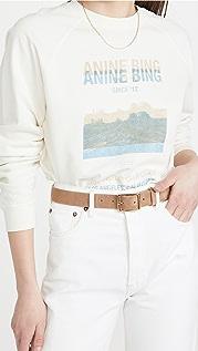ANINE BING Arlo Desert Road 运动衫