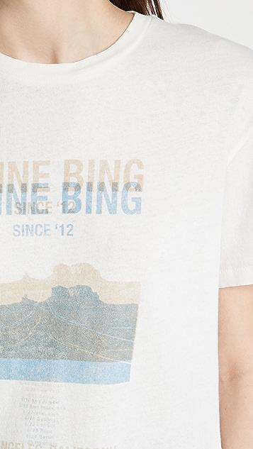 ANINE BING Harper Desert Road T 恤