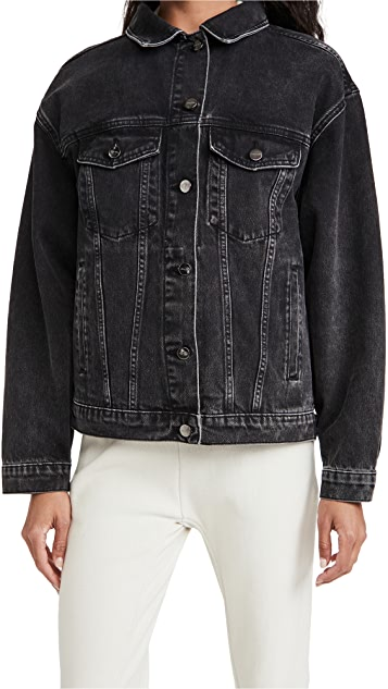 ANINE BING Vintage Black Rory Jacket