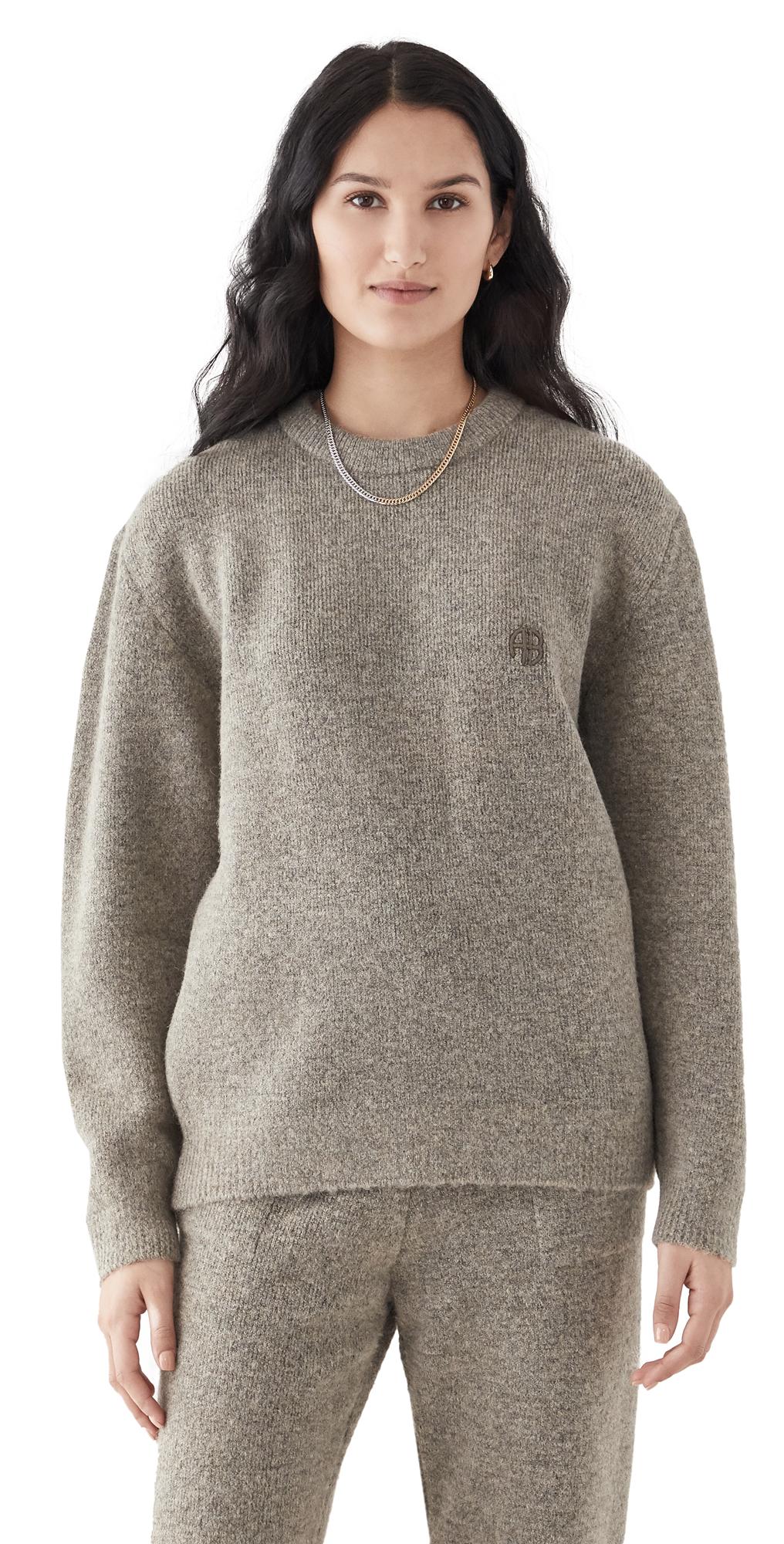 ANINE BING Ramona Hazelnut Sweater