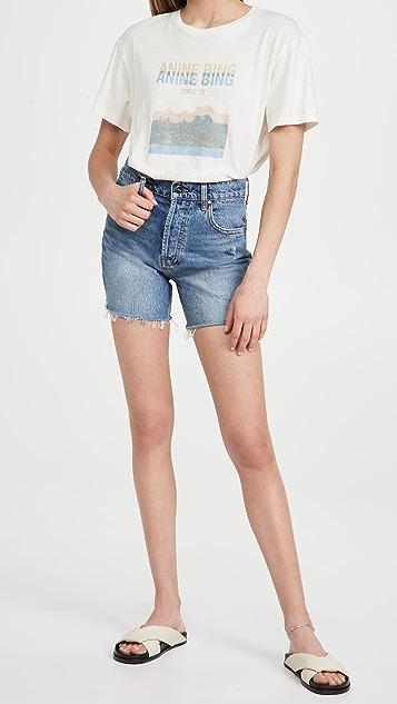 ANINE BING Kit 短裤