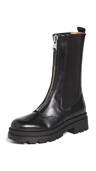 Anine Bing Jasper Boots In Black