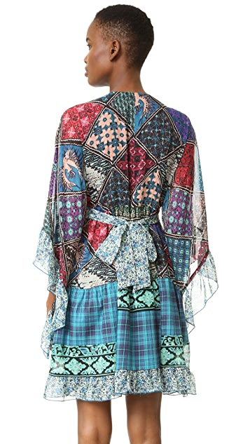 Anna Sui Patchwork Dress
