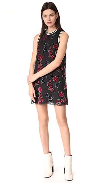 Anna Sui Rose Shift Dress