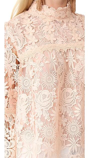 Anna Sui Romanitque Lace Top