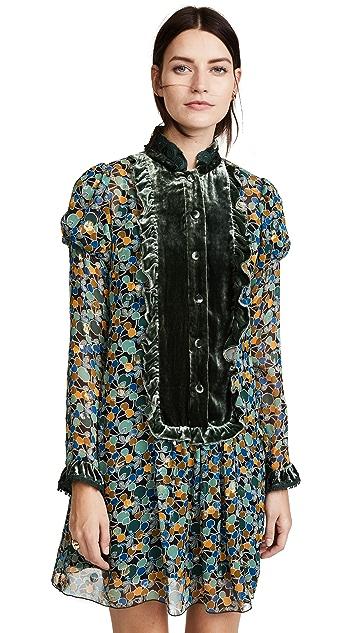 Anna Sui Apples & Cherries Dress