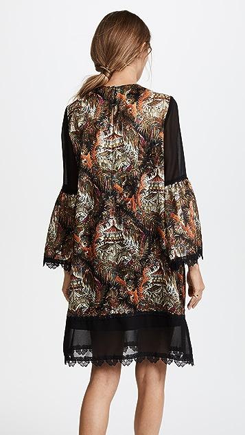 Anna Sui Pagoda Print Dress