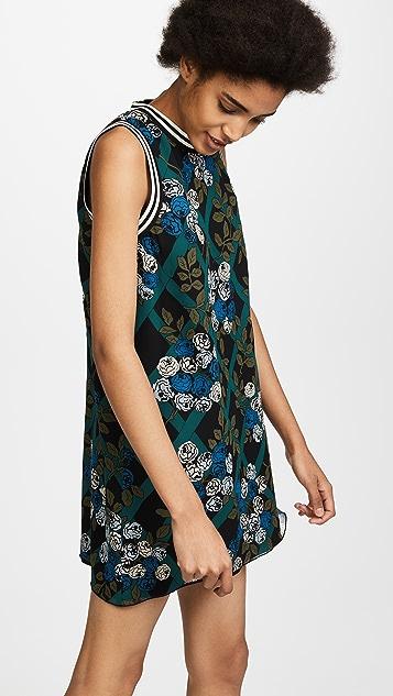 Anna Sui Rose Trellis Dress