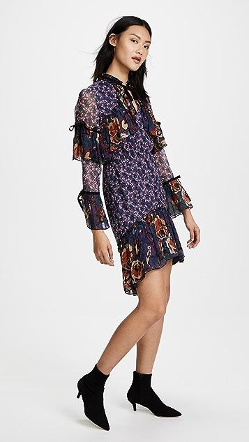 Anna Sui Birds & Roses Dress