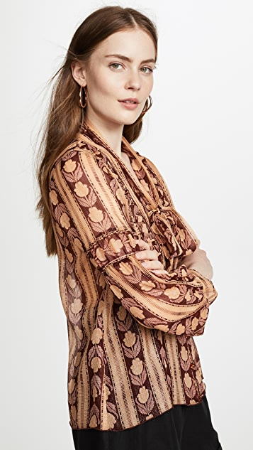 Anna Sui Roses Blouse