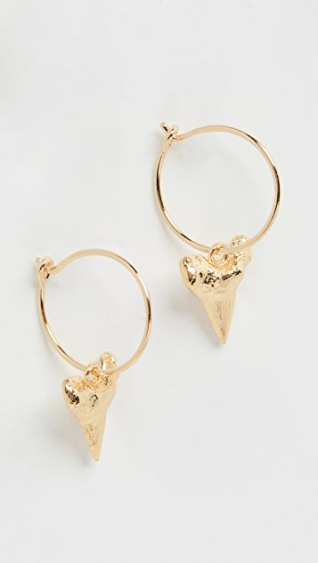 Anni Lu Bite Me 圈式耳环