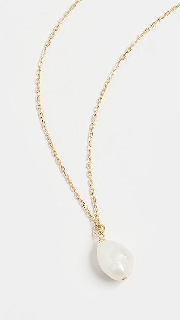 Anni Lu 巴洛克珍珠绿色玛瑙项链