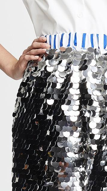 Anouki Sparkly Silver Shorts