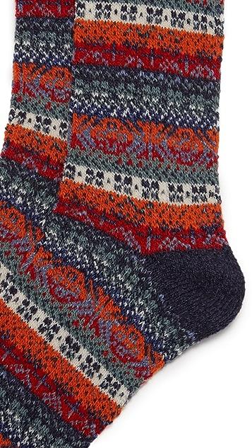 Anonymous Ism Fair Isle Grade Crew Socks