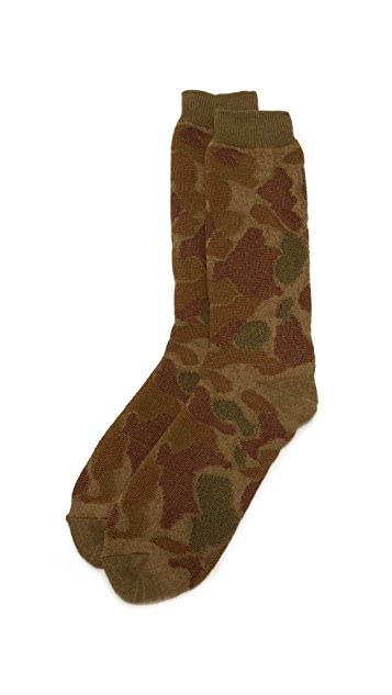 Anonymous Ism Camo Pile Socks