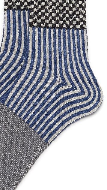Anonymous Ism Mulit Pattern Crew Socks