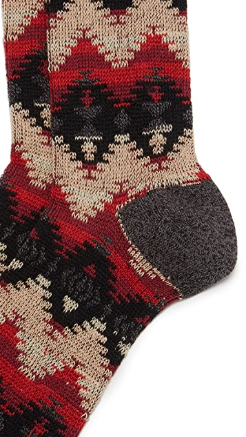 Anonymous Ism Tribal JQ Crew Socks