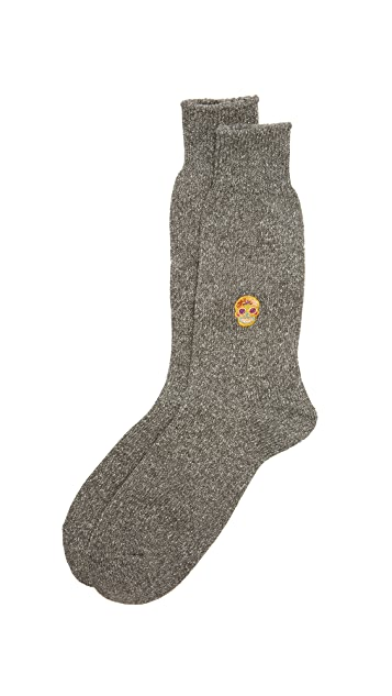 Anonymous Ism Multi Pattern Crew Socks
