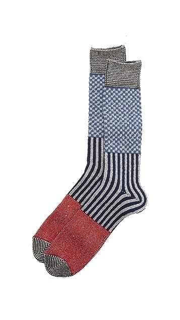 Anonymous Ism Multi Pattern Crew Socks