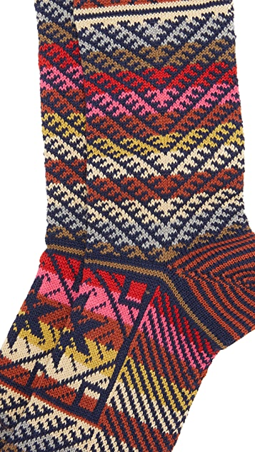 Anonymous Ism Kilim Crew Socks