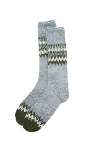 Anonymous Ism Napping Nordic Crew Socks