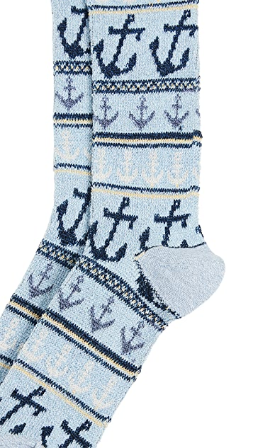 Anonymous Ism Anchor Crew Socks